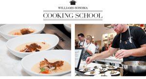 Aulas de culinária nas lojas Williams-Sonoma