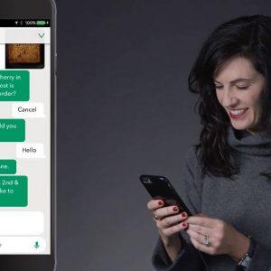 Barista Starbucks Samsung chatbot